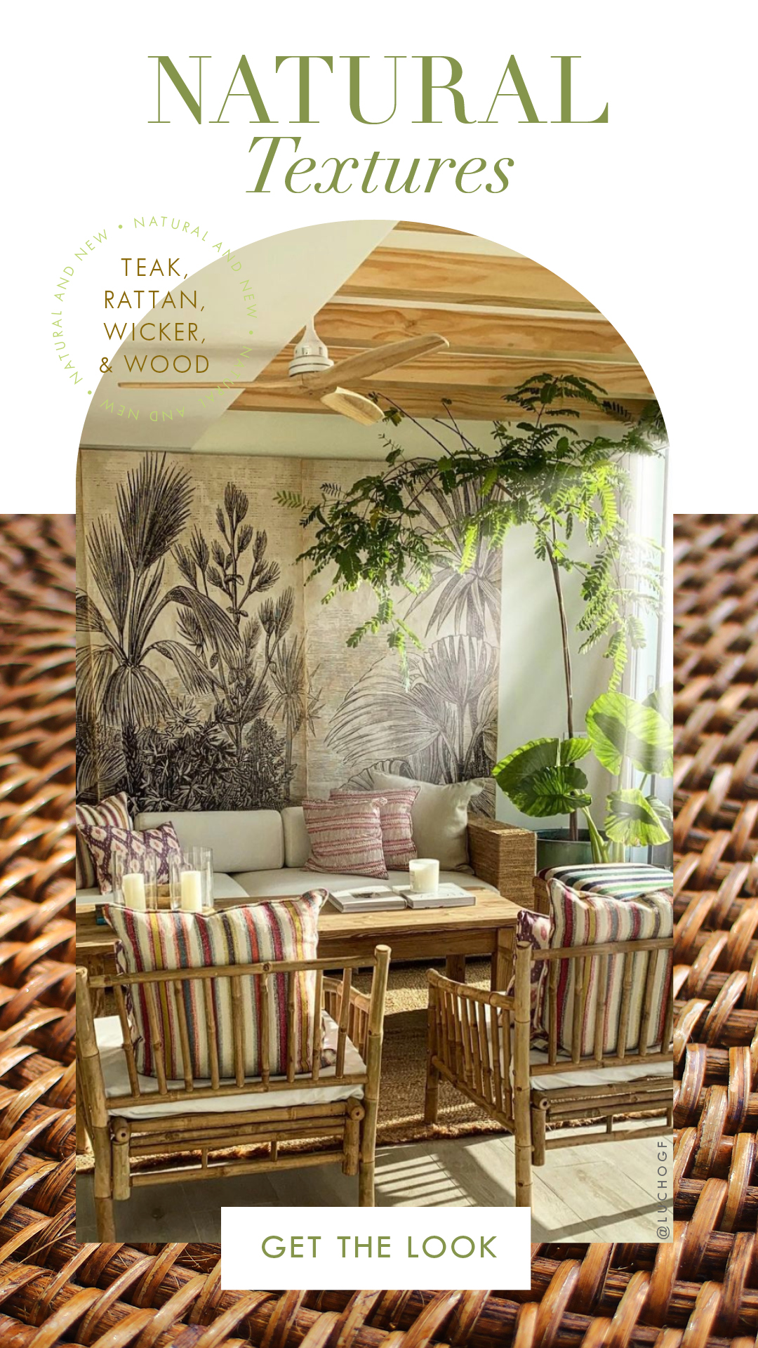 Shop Rattan, Wicker and Cane Furniture & Accents