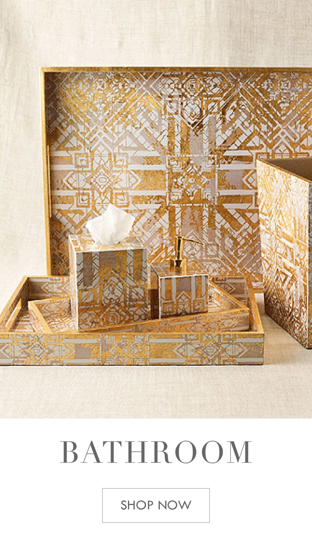 Kim Seybert Bathroom Decor