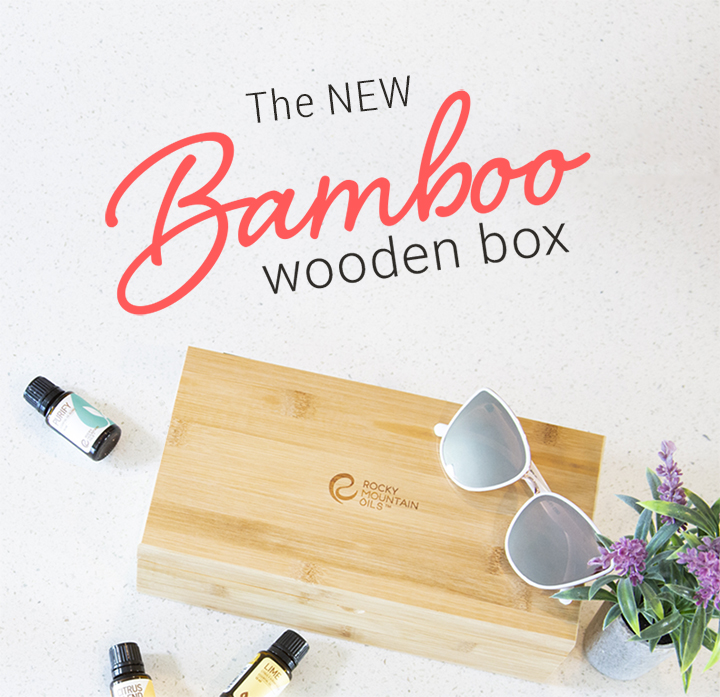 The New Bamboo Wooden Box