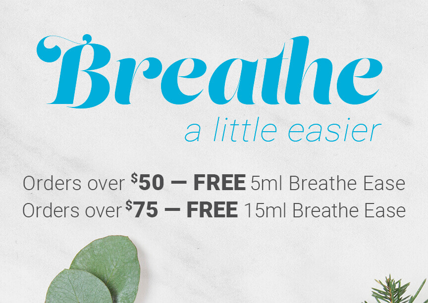 Get a FREE Breathe Ease When You Spend $50 or More!