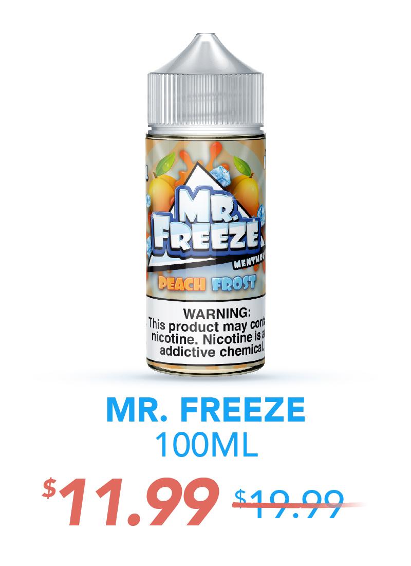 Mr. Freeze 100ML, $11.99