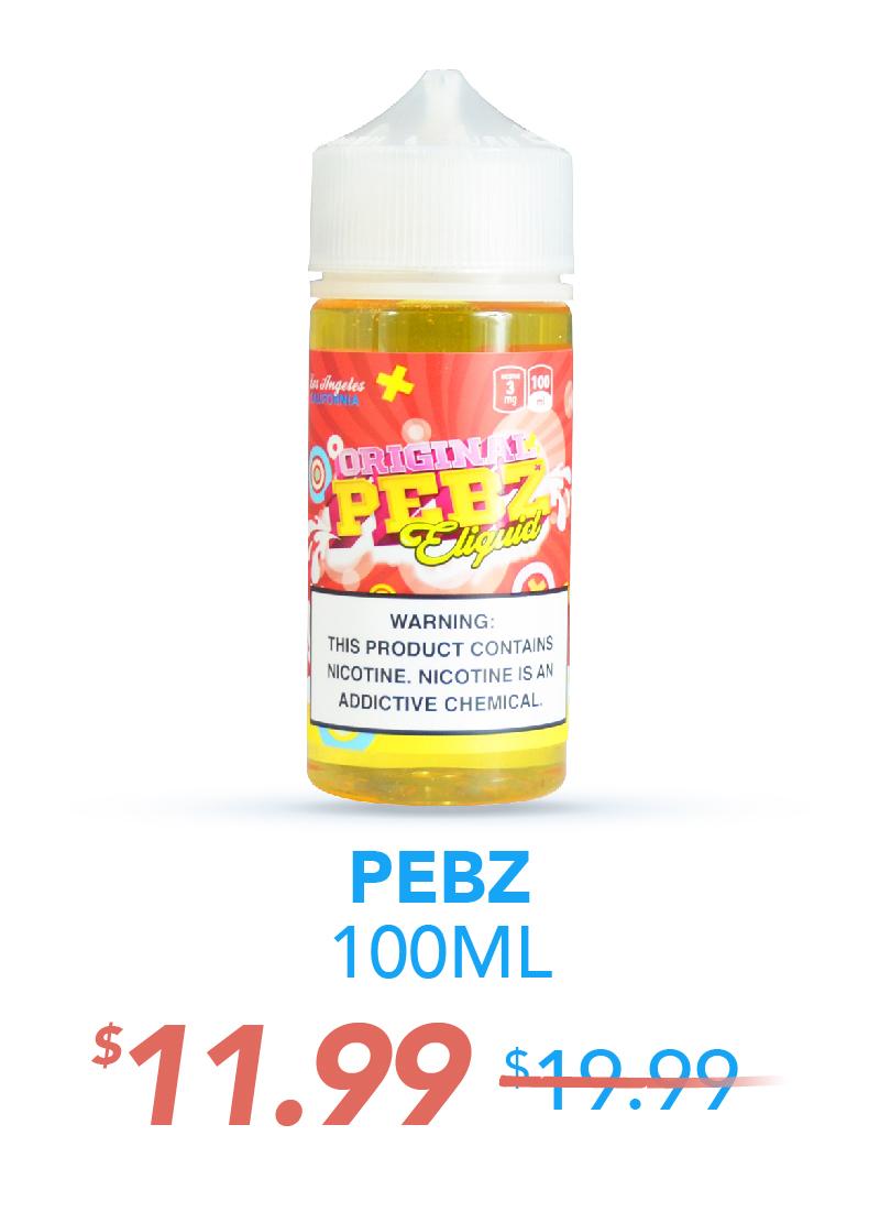 Pebz 100ML, $11.99