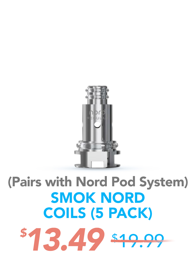 Smok Nord Coils (5 Pack), $13.49