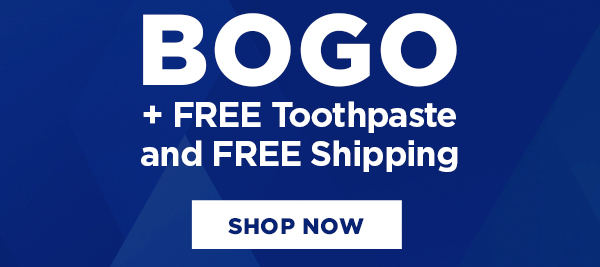 Free toothpaste with Professional Effects Twin Pack purchase