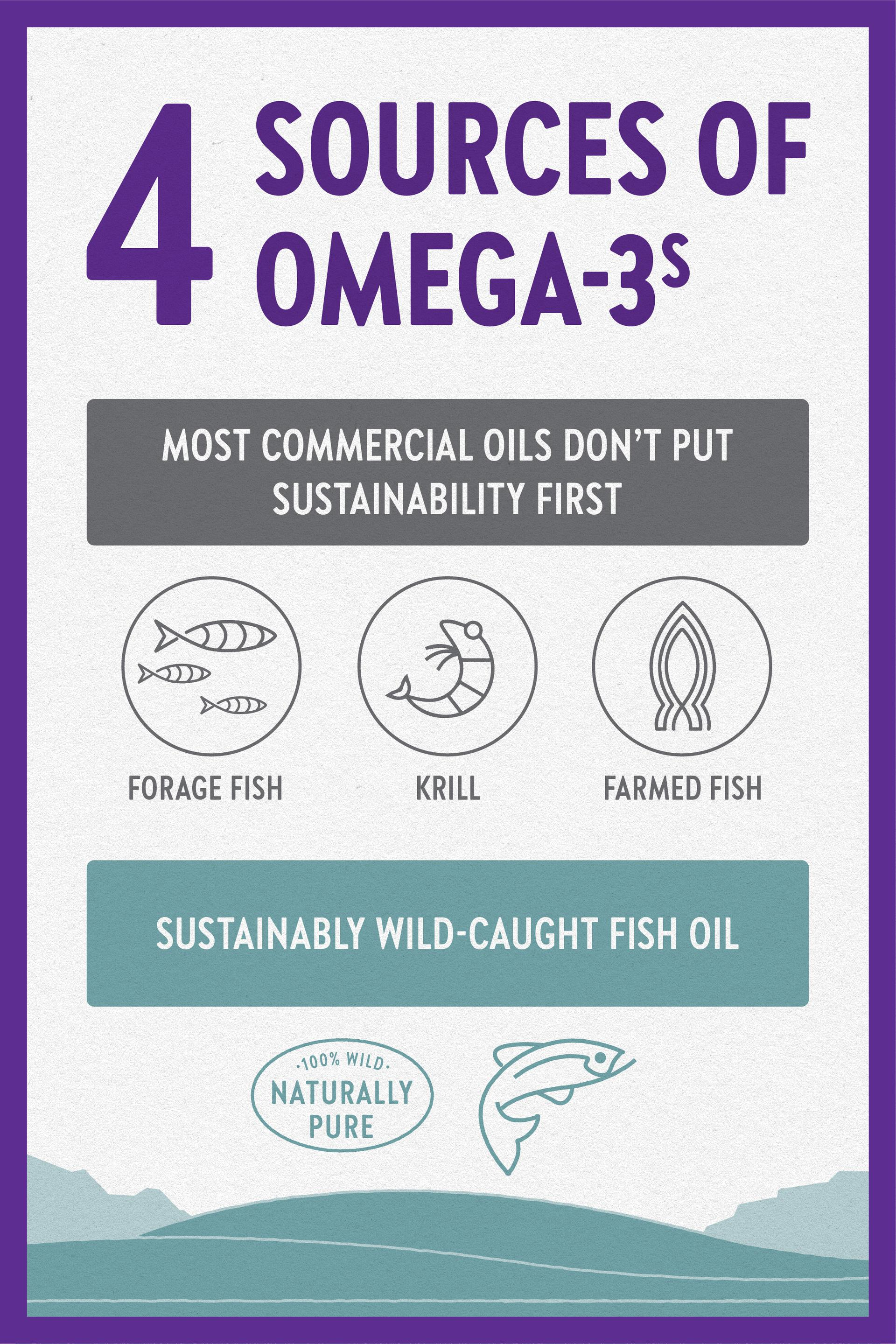 4 sources of omega-3s