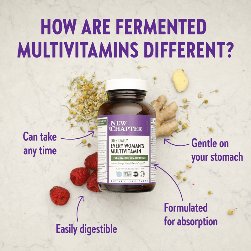 How Are Fermeneted Multivitamins Different?