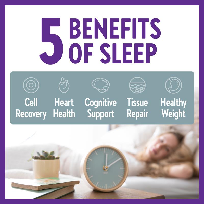 5 Benefits of Sleep
