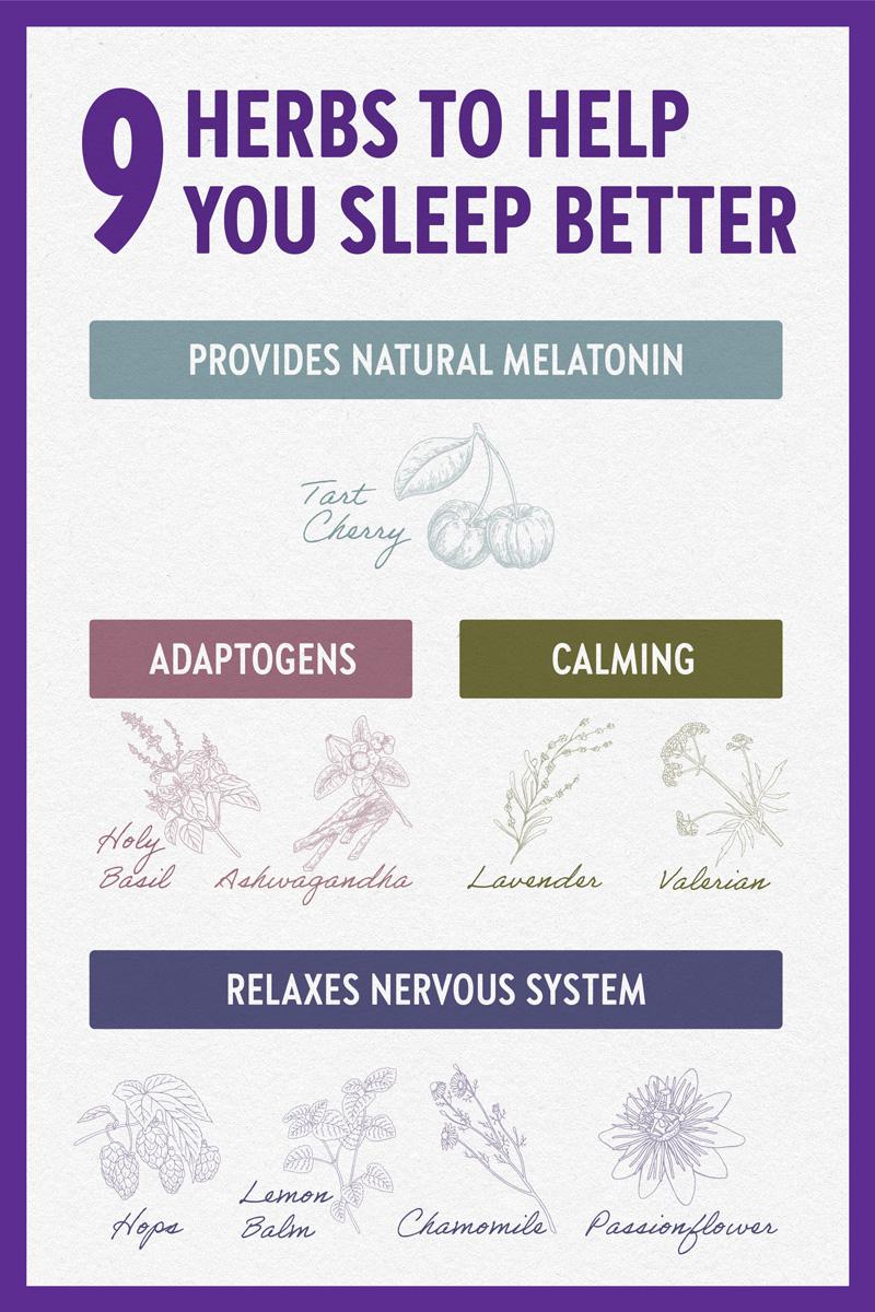 9 Herbs to help you sleep better