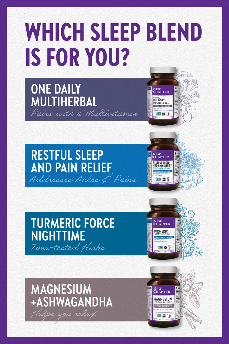 Which sleep blend is for you?