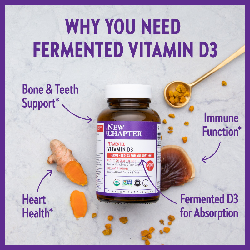 Why You Need Fermented Vitamin D3